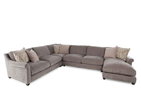 Jonathan Louis Sectional Sofa with Jonathan Louis Shearson Four Sectional Mathis Brothers Furniture