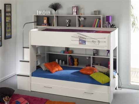 stylish bunk beds white bunk beds with storage modern modern storage twin