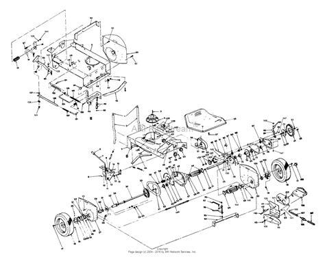 snapper parts diagram snapper 2650s 26 quot 5 hp rear engine rider series 0 parts