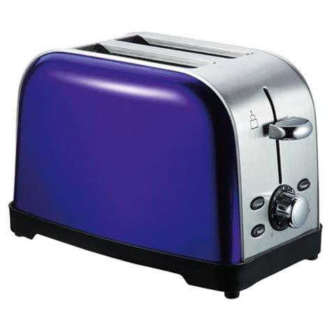 Tesco 2 Slice Toaster buy tesco 2 slice ss toaster purple from our toasters range tesco