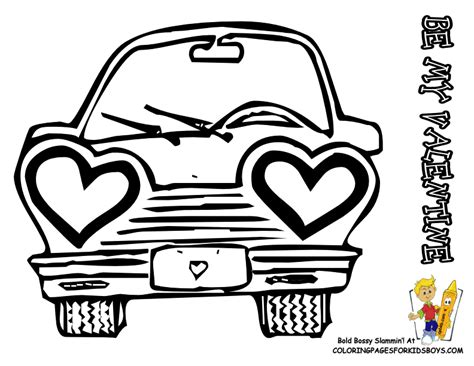 funny valentine coloring pages boys valentines free