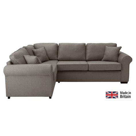 buy fabric corner sofas buy collection erinne fabric left hand corner sofa