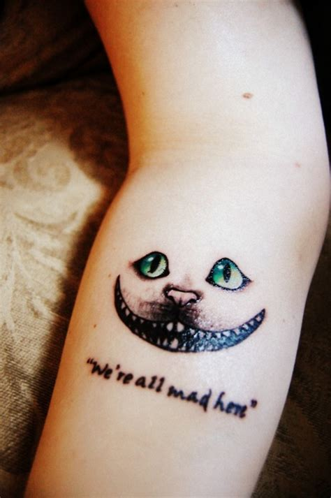 eye tattoo quotes tattoo tuesday alice in wonderland girl gone geek