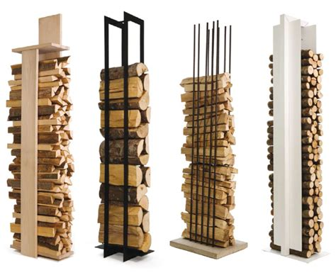 Vertical Log Rack get all fired up in your garden gardens