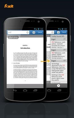 foxit mobile pdf apk for android