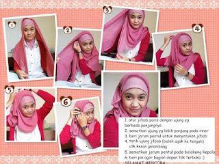 tutorial hijab paris remaja simple tutorial cara simple memakai hijab paris modern terbaru