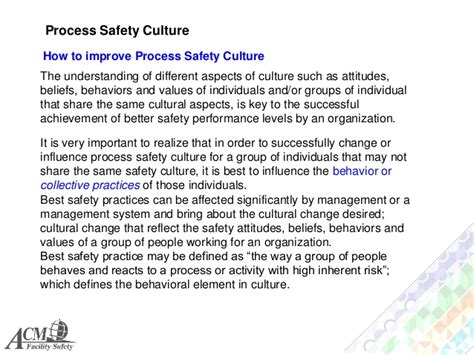 groups process and practice hse 112 process i process safety management system