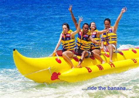 banana boat ride musandam ride the banana picture of mario s fiji fun factory