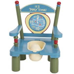 It s potty time large wooden potty chair potty training concepts