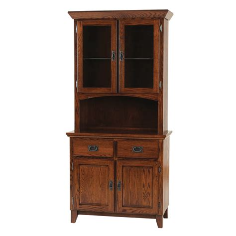 Mission 2 Door Buffet and Hutch   Home Envy Furnishings: Solid Wood Furniture Store