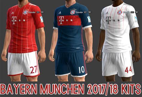 Jersey 1 Set Bayern Munchen Home 2017 2018 Grade Ori Official bayern munchen archives pes patch