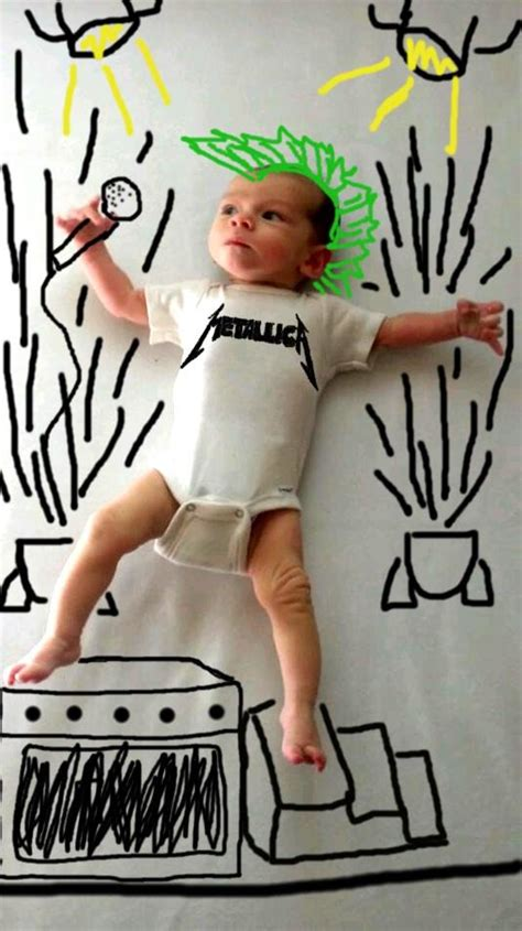 doodle free make doodles silly portraits of newborn baby funcage