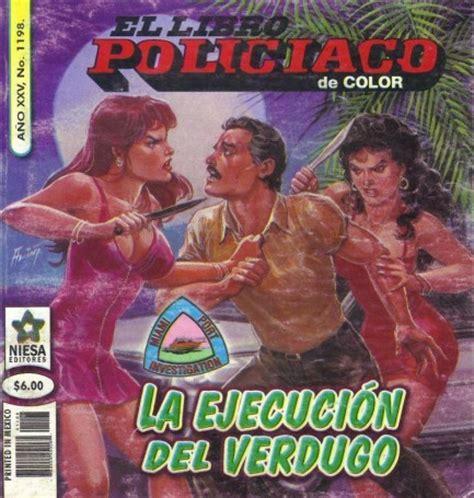 libro pulp pulp international el libro policiaco