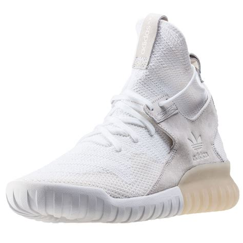 adidas tubular x pk mens trainers in white
