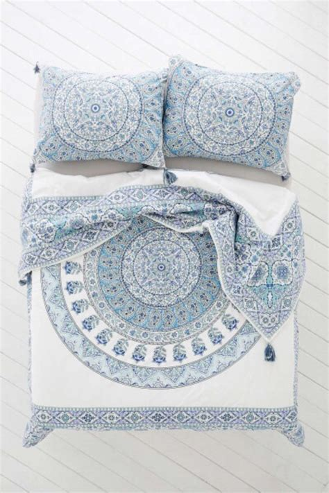 tumblr pattern bedding dress home accessory bedding boho chic style mandala