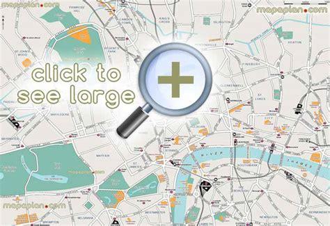 printable map central london london tourist map printable memes