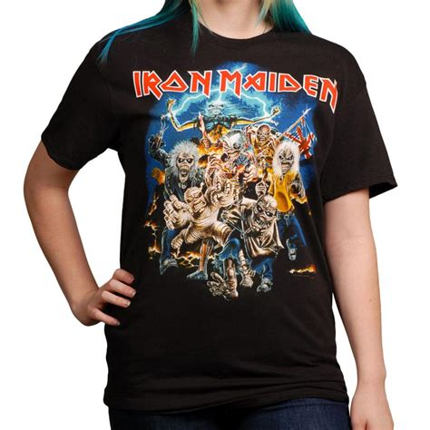 Vintage Metal Desk For Sale Iron Maiden Best Of The Beast T Shirt S