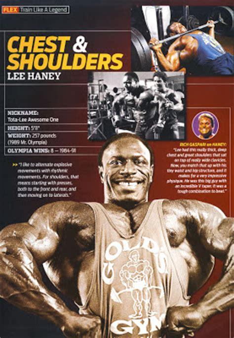Detoxing Bodybuilding by Chest Shoulder With Big Haney Base