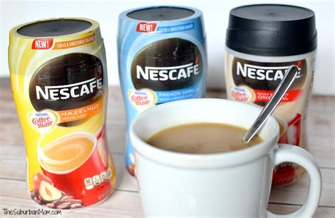 Nescafe Coffee Mate nescaf 233 with coffee mate instant coffee and creamer in