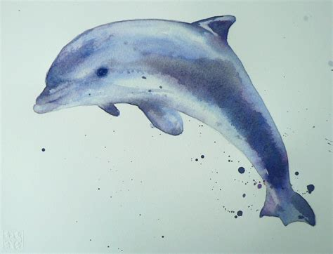watercolor tattoos dolphin watercolor dolphins dolphin watercolor demo 12 step