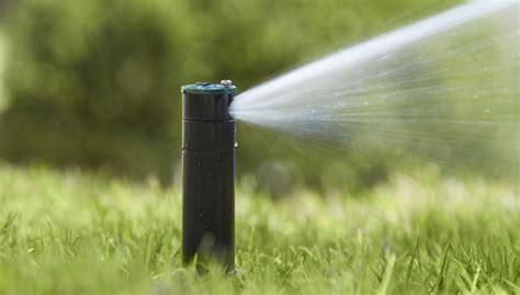 diy sprinkler systems water  lawn  ease