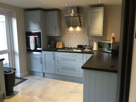 Howdens Kitchen Planner by Howdens Tewkesbury Blue Kitchen Kitchen Planning