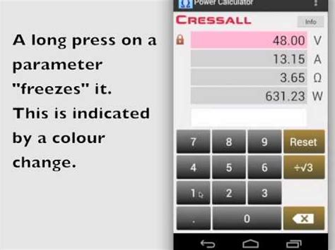 calculator ohm ohm s law power law calculator android apps on google play