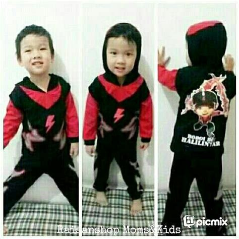 Baju Anak Laki Laki Wolverine Zomookids Ads 2 jual baju anak boboiboy halilintar baju kostum anak laki