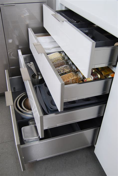 Kitchen Cabinet President New Stainless Steel Drawers And Roll Out Shelves Kitchen