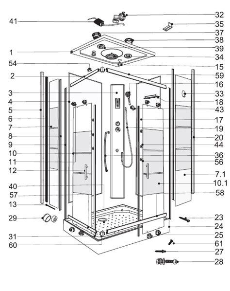 box doccia bricofer cabina doccia idromassaggio bricofer