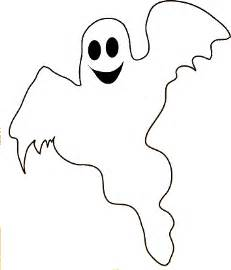 Ghost Clipart Outline by W