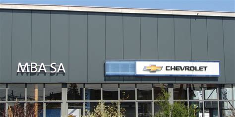 Mba Geneve by Garage Mba Sa Chevrolet 232 Ve 1217 Meyrin Auto2day
