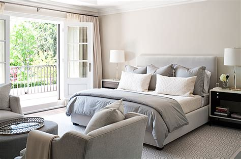 blue and beige bedroom gray duvet transitional bedroom jennifer worts design