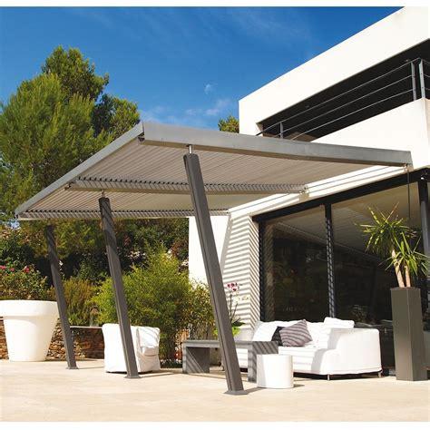 terrasse 4x4 tonnelle adoss 233 e aluminium 4x4 m lames orientables