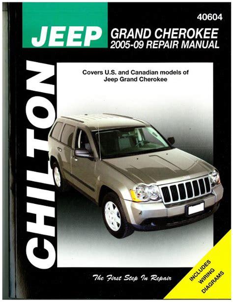 chilton car manuals free download 2005 pontiac grand am parking system chilton jeep grand cherokee 2005 2009 repair manual