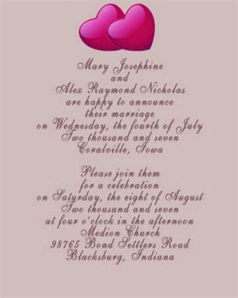 Wording Wedding Invitations by Pictures Of Wedding Invitation Wording Suggestions