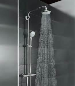grohe shower systems by grohe shower system for wall