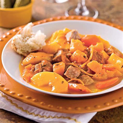 cuisine et mijot駸 mijot 233 de veau 224 la courge et aux pommes recettes