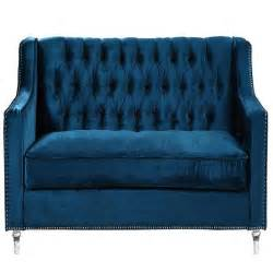 blue velvet tufted sofa blue velvet tufted sofa thesofa
