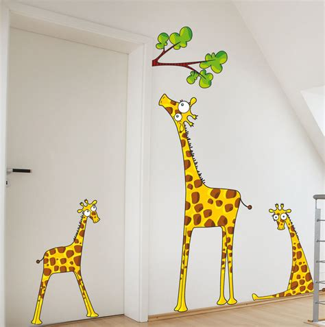 of wall decoration with stickers decozilla