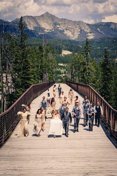 Moonlight Basin   Big Sky, MT Best Wedding Venue   Best