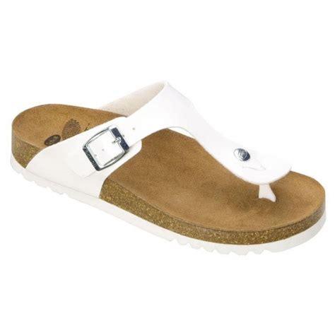 scholl bioprint boa vista wedge sandals white