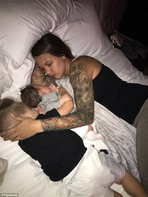 mom share bed husband writes post supporting wife s parenting choices