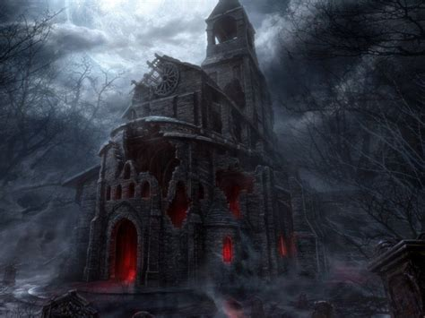 scary houses