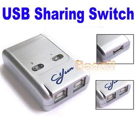 Gaintech 2 Port Usb2 0 Auto Printer Switch 2 ports usb 2 0 auto switch hub selector switcher for printer scanner pc ebay