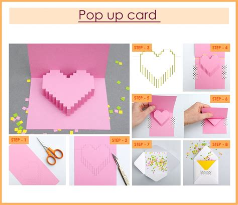 How To Make A Birthday Card Out Of Construction Paper - handmade pop up cards for birthday birthday ideas