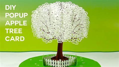 carding apple tutorial pop up apple tree card tutorial 3d sliceform on the