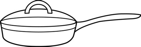 pan coloring pages frying pan coloring page free clip