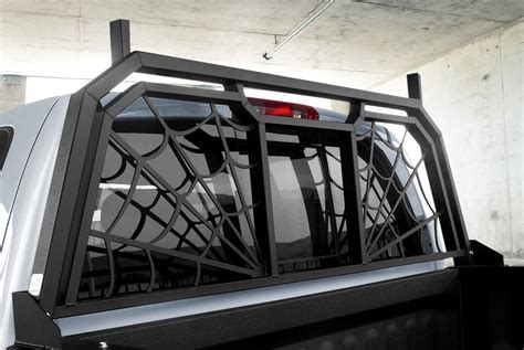 Truck Cab Racks by Truck Headache Racks Louvers Mesh Ladder Rack Light