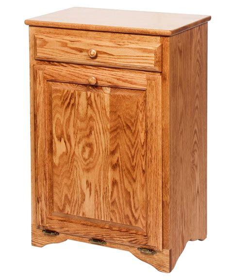 tilt out trash bin cabinet with drawer tilt out waste bin with drawer amish direct furniture